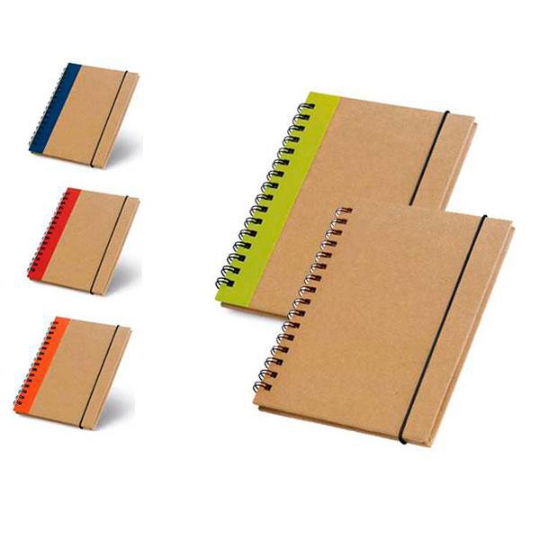Bloco de anotações com 60 folhas não pautadas