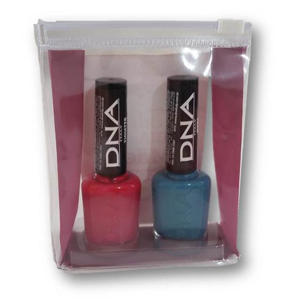 Kit com 2 esmaltes da marca DNA