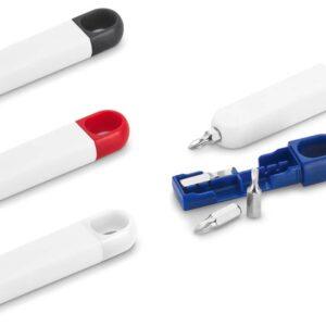 Kit mini ferramentas com 4 Chaves. Peças nas cores preta