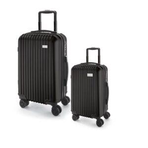Conjunto de 2 malas de executivo. ABS e PET. Interior forrado