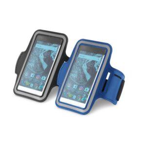 """Braçadeira Soft shell para celular  5.5"""" de alta densidade"""