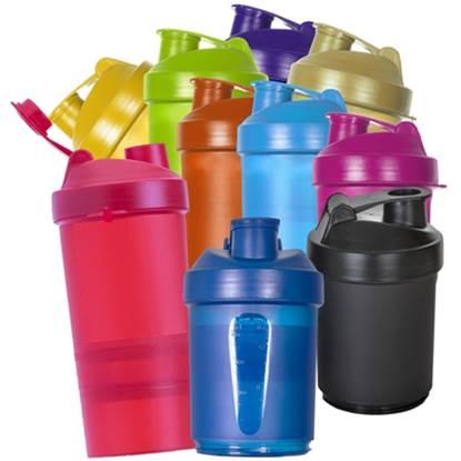 Coqueteleira de plástico para Shake 400ml – SH003