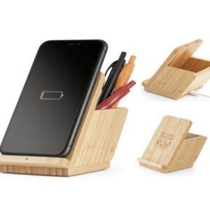 Carregador wireless em bambu – TC259