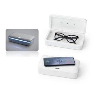 Caixa esterilizadora UV com carregador wireless Fast – TC262